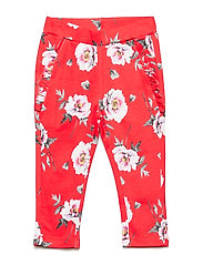 Tiba - Trousers - POPPY RED