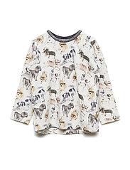 Alma - T-shirt l/s - IVORY