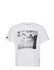 Angus - T-shirt S/S - WHITE