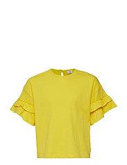 Adela - T-shirt S/S - LEMON