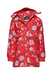 Oline - Jacket - POPPY RED