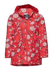 Ona - Jacket - POPPY RED