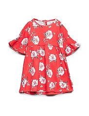 Deborah - Dress - POPPY RED
