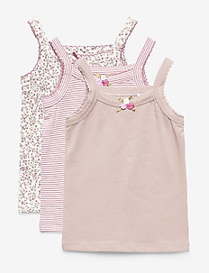 Filipa - Singlet 3-pack - SHADE ROSE