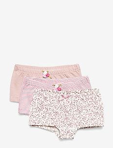 Feline - Panties 3-pack - SHADE ROSE