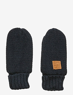 Flori - Mittens - rękawiczki - navy