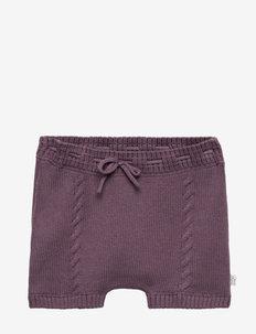 Harper - Shorts - DARK PLUM