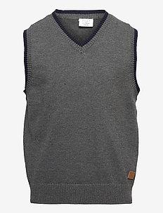 Earl - Slipover - vests - antracite melange