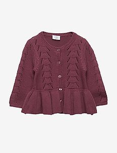 Carna - Cardigan - PURPLE FIG