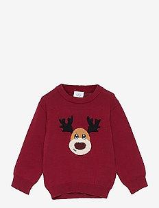 Paw - Pullover - knitwear - biking red