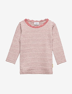 Alanis - T-shirt L/S - ROSEWOOD
