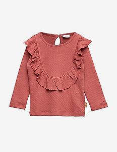 Asha - T-shirt L/S - ROSEWOOD