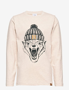 Arti - T-shirt L/S - WHEAT