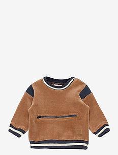 Sofus - Sweatshirt - sweatshirts - cognac