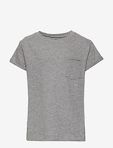 T-shirt - krótki rękaw - light grey melange