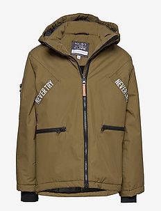 Oli - Jacket - DARK OLIVE
