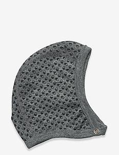 Hat - huer - wool grey