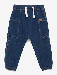 Tom - Jogging Trousers - sweatpants - denim