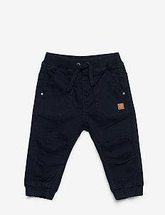 Tobi - Trousers - NAVY