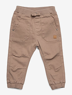 Tobi - Trousers - TAUPE