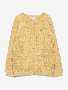 Cheri - Knit Jacket - cardigans - sun dust