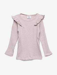 Alexia - T-shirt S/S - dlugi-rekaw - violet ice
