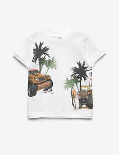Ask - T-shirt S/S - kurzärmelige - white