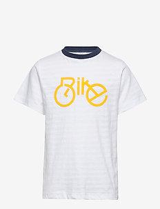 Alwin - T-shirt S/S - krótki rękaw - white