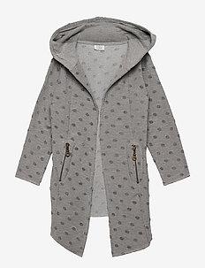 Cardigan - gilets - light grey melange