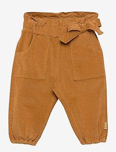 Tabita - Trousers - bukser - ochre