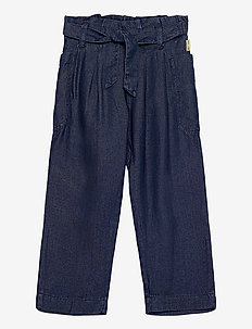 Thora - Trousers - trousers - denim