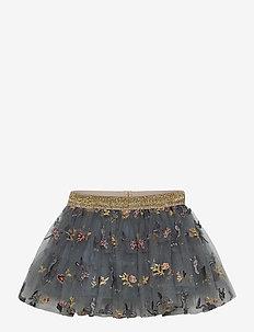Nella - Skirt - nederdele - blue flint