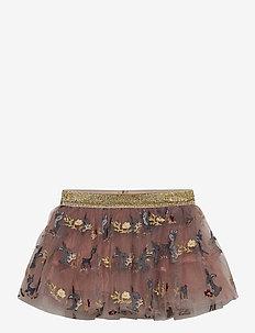 Nella - Skirt - nederdele - burlwood