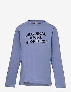 T-shirt L/S - langærmede t-shirts - blue bell