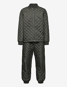 Thermo set - termokläder - dark grey