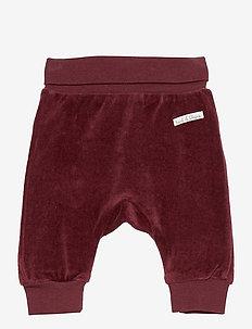 Gail - Trousers - trousers - mahogany