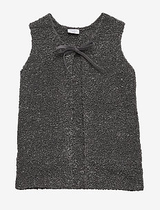Eliza - Knitted Vest - bodywarmers - antracite melange