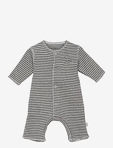 Matti - Jumpsuit - kurzärmelig - grey blend