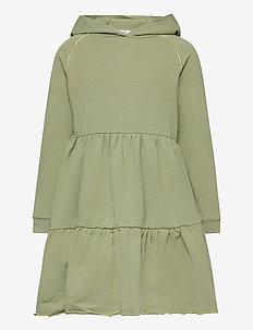 Dunya - Dress - jurken - oil green