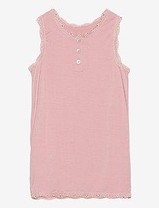 Slipdress - sleeveless - dusty rose