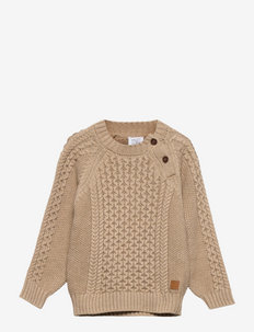 Porter - Pullover - pullover - biscuit melange