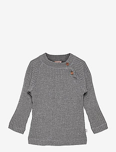 Pullover - knitwear - wool grey