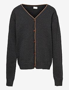 Cardigan - gilets - dark grey melange