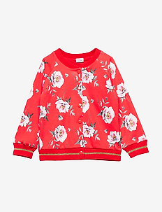 Evely - Cardigan - POPPY RED