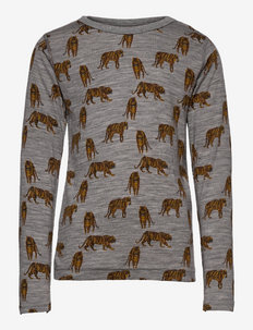 Alfi - Nightwear - manches longues - light grey melange