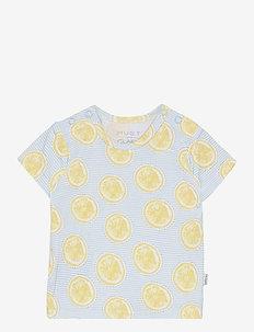 Adi - T-shirt S/S - short-sleeved - blue glow