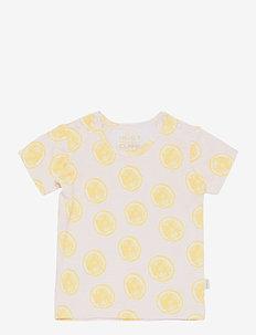 Adi - T-shirt S/S - kortärmade - peach skin