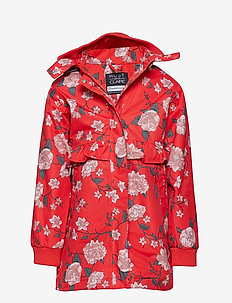 Oline - Jacket - POPPY RED