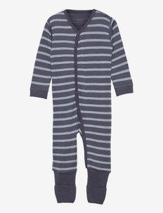 Manu - Nightwear - langärmelig - ombre blue