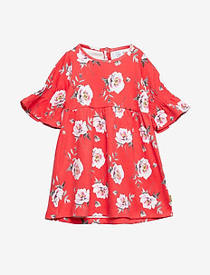 Deborah - Dress - POPPY RED